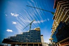 οικοδόμηση κτηρίου κάτω Στοκ εικόνες με δικαίωμα ελεύθερης χρήσης