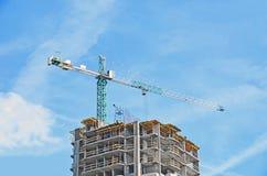 οικοδόμηση κτηρίου κάτω Στοκ εικόνα με δικαίωμα ελεύθερης χρήσης