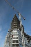 οικοδόμηση κτηρίου σύγχρονη Στοκ Εικόνες
