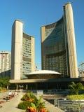 οικοδόμηση της αίθουσας Τορόντο πόλεων του Καναδά Στοκ Εικόνες