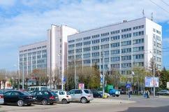 Οικοδόμηση της διαχείρισης εργοστασίων ανοικτό Joint Stock Company StankoGomel, Λευκορωσία Στοκ Εικόνες