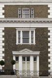 οικοδόμηση της πρόσοψης Λονδίνο Στοκ Εικόνα