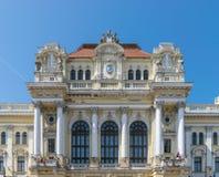 Οικοδόμηση του Δημαρχείου Oradea, περιοχή Crisana, της Ρουμανίας στοκ εικόνες με δικαίωμα ελεύθερης χρήσης