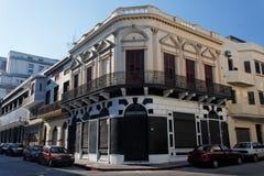 οικοδόμηση του ιστορικού Μοντεβίδεο Ουρουγουάη στοκ εικόνες
