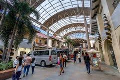 Οικοδόμηση του κέντρου κωμοπόλεων Alabang στην πόλη της Μανίλα στοκ εικόνες με δικαίωμα ελεύθερης χρήσης