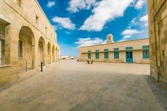 Οικοδόμηση του οχυρού Άγιος Angelo, Birgu, Μάλτα Στοκ φωτογραφία με δικαίωμα ελεύθερης χρήσης