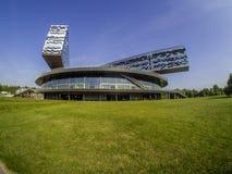 Οικοδόμηση του σχολείου της Μόσχας της διαχείρισης SKOLKOVO Στοκ Φωτογραφίες