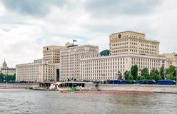 Οικοδόμηση του υπουργείου Αμύνης της Ρωσίας στοκ εικόνες