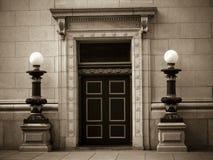 οικοδόμηση τραπεζών ιστορική Στοκ Εικόνα
