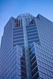 οικοδόμηση τραπεζών σύγχρ&o Στοκ Φωτογραφίες