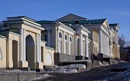 οικοδόμηση των στηλών Ρωμ&alph Στοκ εικόνα με δικαίωμα ελεύθερης χρήσης