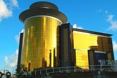 οικοδόμηση χρυσή Στοκ εικόνες με δικαίωμα ελεύθερης χρήσης