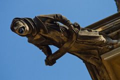 οικοδόμηση gargoyle Στοκ εικόνες με δικαίωμα ελεύθερης χρήσης