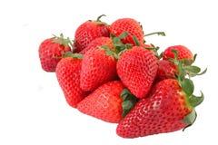 οικολογικές φράουλες Στοκ Φωτογραφίες