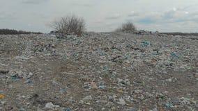 Οικολογική καταστροφή, με τη μεγάλη απόρριψη των οικιακών απορριμάτων φιλμ μικρού μήκους