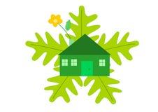 οικολογικό σπίτι Στοκ Εικόνα