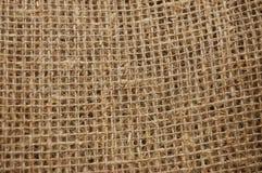 οικολογικό υλικό sackcloth Στοκ φωτογραφία με δικαίωμα ελεύθερης χρήσης