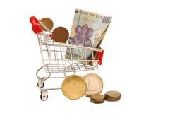 Οικονομία αγορών Στοκ Φωτογραφίες