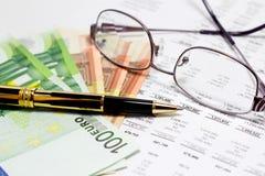 Οικονομική έκθεση στοκ εικόνα