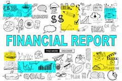 Οικονομική έννοια εκθέσεων με το ύφος σχεδίου Doodle: σε απευθείας σύνδεση purcha ελεύθερη απεικόνιση δικαιώματος