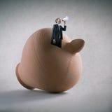 Οικονομική έννοια διαφήμισης Στοκ Εικόνα