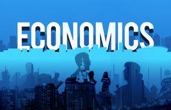 Οικονομική έννοια σημαδιών δολαρίων προτερημάτων οικονομίας Στοκ Εικόνα