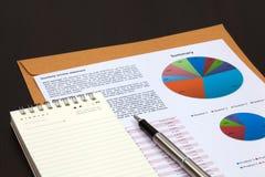 Οικονομική ανάλυση γραφικών παραστάσεων στοκ εικόνες με δικαίωμα ελεύθερης χρήσης