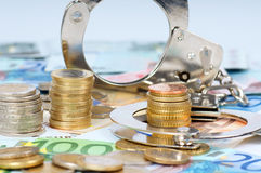 Οικονομική απάτη Στοκ Εικόνες
