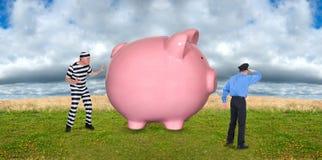 Οικονομική ασφάλεια Στοκ Εικόνες