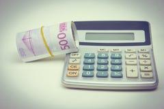 Οικονομική λογιστική με τις εκθέσεις εγγράφου Στοκ Εικόνες