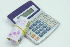 Οικονομική λογιστική με τις εκθέσεις εγγράφου Στοκ φωτογραφία με δικαίωμα ελεύθερης χρήσης