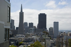 Οικονομική περιοχή του Σαν Φρανσίσκο, Καλιφόρνια Στοκ φωτογραφίες με δικαίωμα ελεύθερης χρήσης
