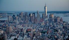 Οικονομική περιοχή NYC Στοκ Εικόνες