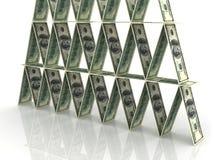 οικονομική πυραμίδα Στοκ Φωτογραφία