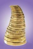 οικονομική πυραμίδα Στοκ φωτογραφία με δικαίωμα ελεύθερης χρήσης