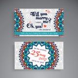 οικονομική σειρά επαγγελματικών καρτών διακοσμητικός τρύγος στ&o Διακοσμητικές floral επαγγελματικές κάρτες ή πρόσκληση με το man απεικόνιση αποθεμάτων
