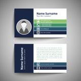 οικονομική σειρά επαγγελματικών καρτών Στοκ φωτογραφία με δικαίωμα ελεύθερης χρήσης