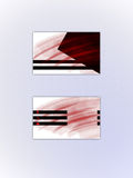 οικονομική σειρά επαγγελματικών καρτών Στοκ Εικόνες