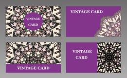 οικονομική σειρά επαγγελματικών καρτών Στοκ εικόνα με δικαίωμα ελεύθερης χρήσης