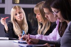 Οικονομική Σχολή Στοκ φωτογραφία με δικαίωμα ελεύθερης χρήσης