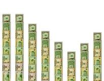 οικονομική τάση διανυσματική απεικόνιση