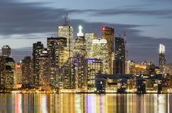 Οικονομικοί ουρανοξύστες περιοχής στο Τορόντο Στοκ φωτογραφία με δικαίωμα ελεύθερης χρήσης
