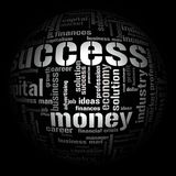 οικονομικοί όροι απεικό&n διανυσματική απεικόνιση