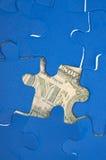οικονομικός γρίφος Στοκ Εικόνες