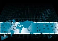 οικονομικός κόσμος διανυσματική απεικόνιση