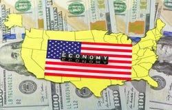 Οικονομικός μετασχηματισμός στις ΗΠΑ Στοκ Εικόνα