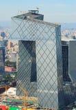 Οικονομικός πύργος κέντρο-CCTV πόλεων cBD-Πεκίνο Στοκ εικόνες με δικαίωμα ελεύθερης χρήσης