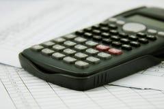 Οικονομικός υπολογιστής Στοκ Εικόνα
