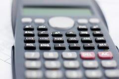 Οικονομικός υπολογιστής Στοκ φωτογραφία με δικαίωμα ελεύθερης χρήσης
