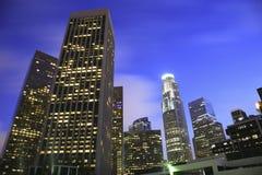 οικονομικός Los της Angeles ορίζ&omicro στοκ εικόνα